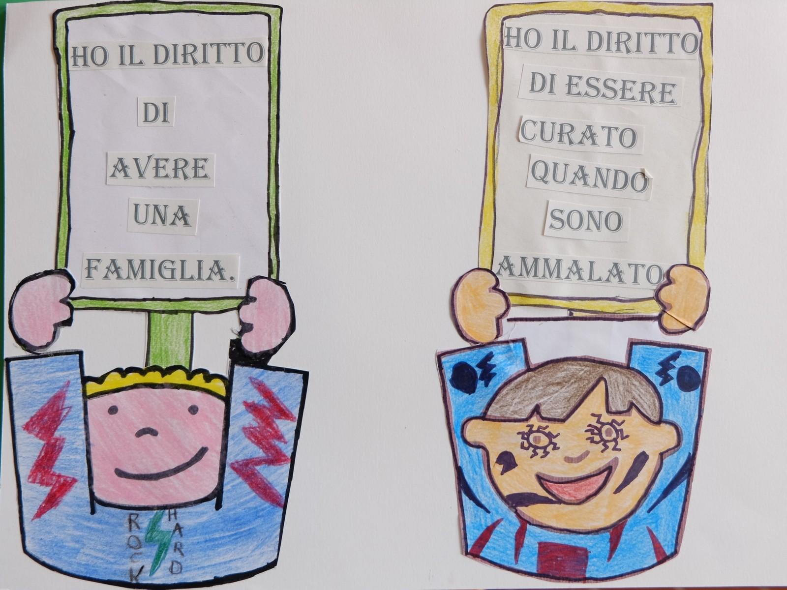 abbastanza I diritti dei bambini, classe 4B | SCUOLA PRIMARIA LONGHENA ZT58